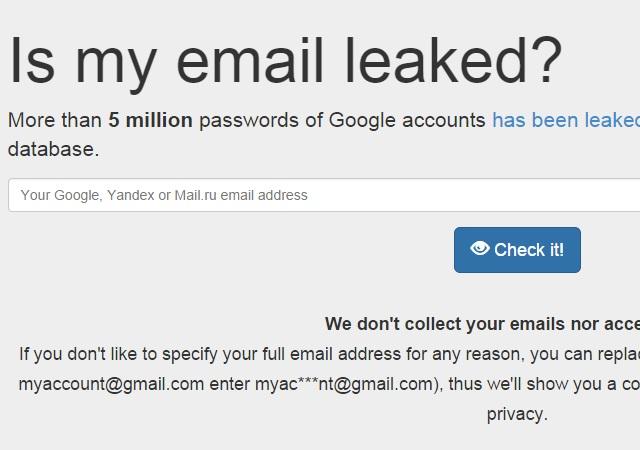 Kaip greitai patikrinti ar jūsų Gmail paštas yra tarp nulaužtųjų?