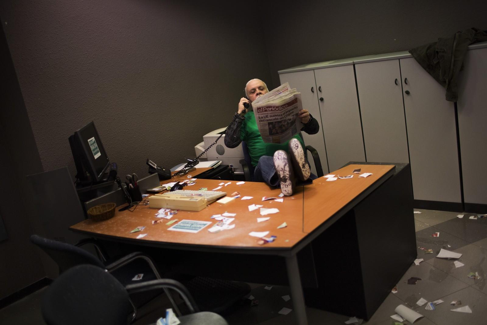 Jūsų biure - betvarkė