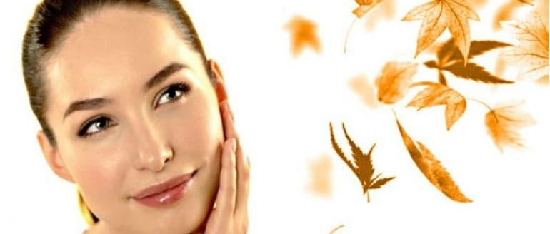 Kaip prižiūrėti odą rudenį?