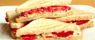 Sumuštiniai su feta sūriu ir pomidorais