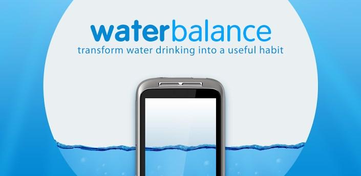 Skaičiuojame išgertą vandenį su Waterbalance