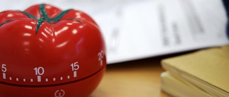 Pomodoro technika - laiko ir darbų planavimas