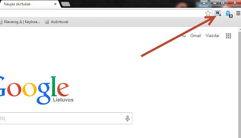 Pašalinti Google Chrome plėtinį