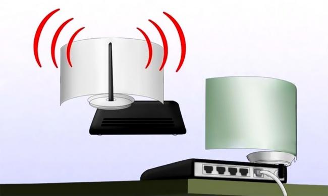 WiFi stiprintuvas pagamintas