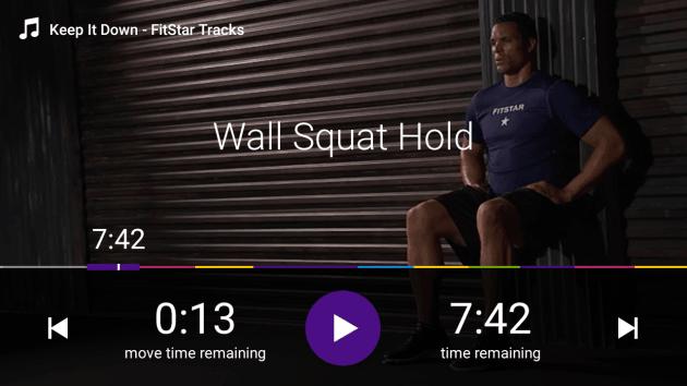 Fitbit Coach programėlė