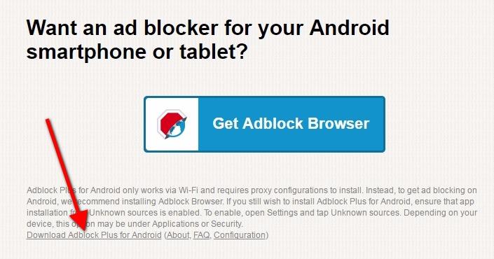 Kaip užblokuoti reklamą Android prietaisuose?