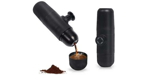 Nešiojamas kavos aparatas