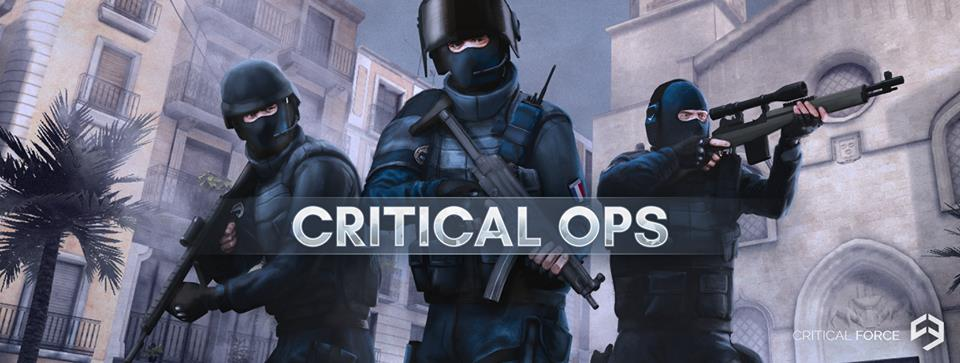 Online šaudyklė Critical Ops