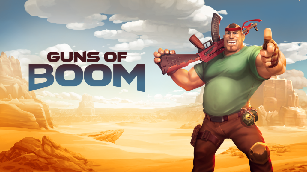Guns of Boom žaidimas