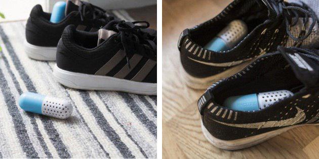 Kapsulės batams