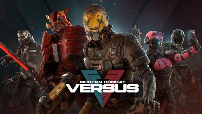 Modern Combat Versus online žaidimas