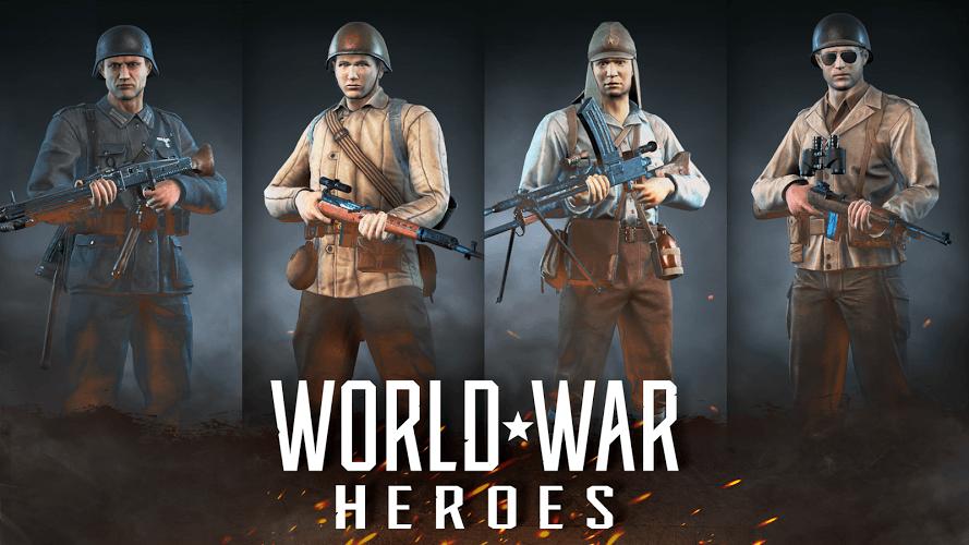 Geriausios online šaudyklės: World War Heroes
