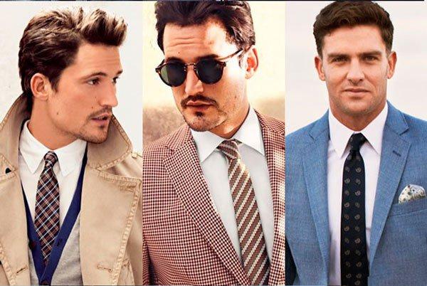 Kaklaraiščio derinimas prie baltų marškinių