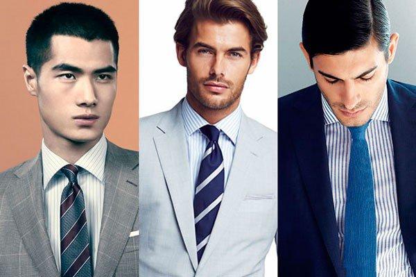 Kaklaraiščio derinimas prie dryžuotų marškinių