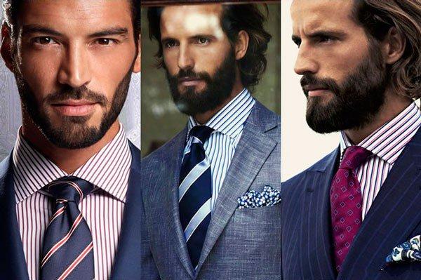 Kaklaraiščiai su dryžuotais marškiniais