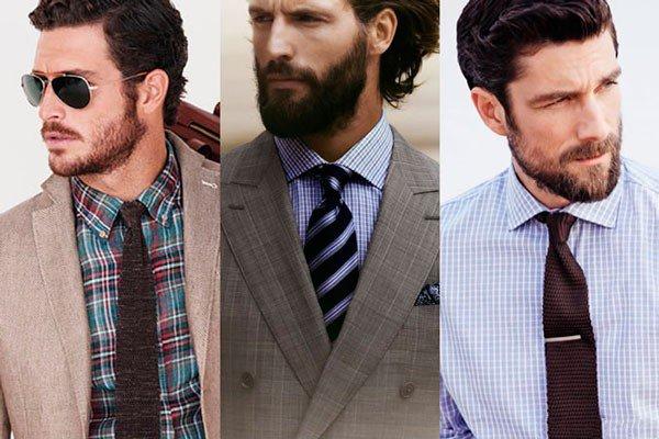 Kaklaraiščio derinimas prie languotų marškinių
