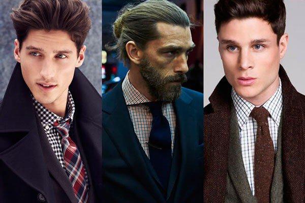 Languoti marškiniai ir kaklaraištis