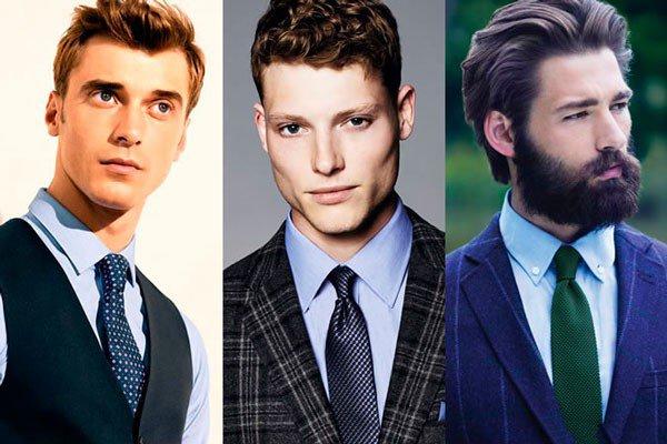 Kaklaraiščio derinimas prie žydrų marškinių