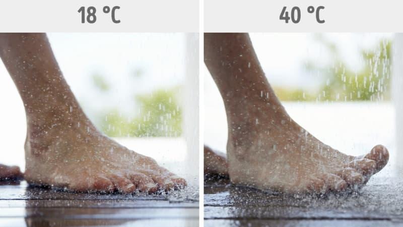 Kontrasto kojų vonia