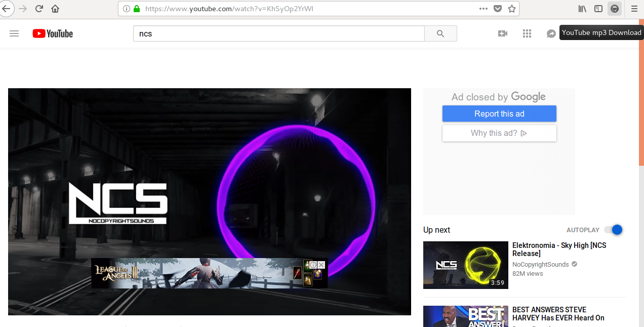 YouTube mp3 įskiepis