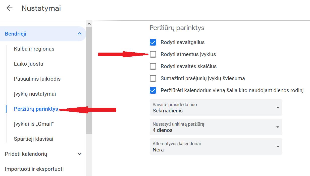 Kaip atsikratyti spamo Google Kalendoriuje