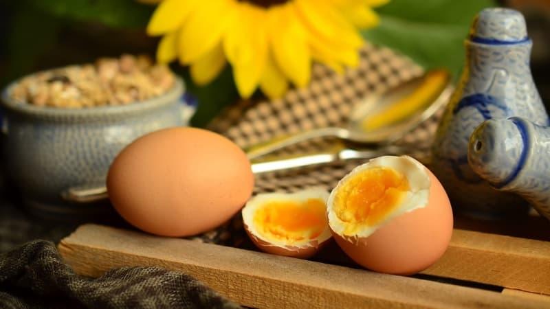 Kiaušinių dieta - meniu savaitei