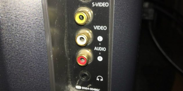 RCA portas televizoriuje