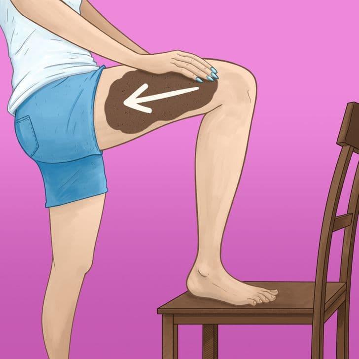 Anticeliulitinis masažas - 1 žingsnis
