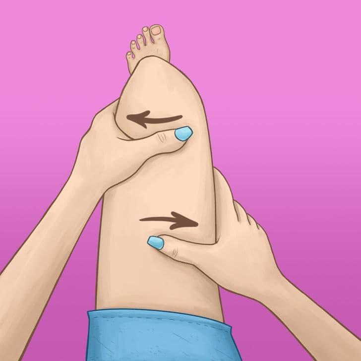 Anticeliulitinis masažas - 2 žingsnis