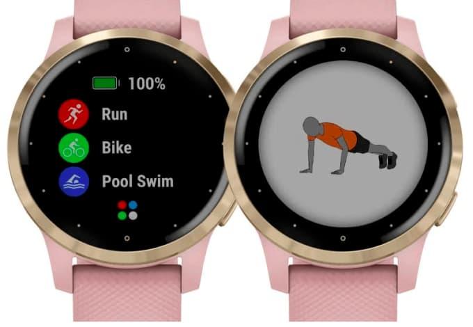 Amazon išmanusis laikrodis rodo fizinio aktyvumo tipą