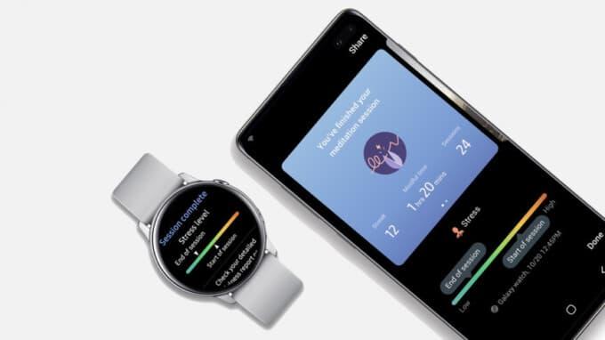 Samsung išmanieji laikrodžiai rodo streso lygį
